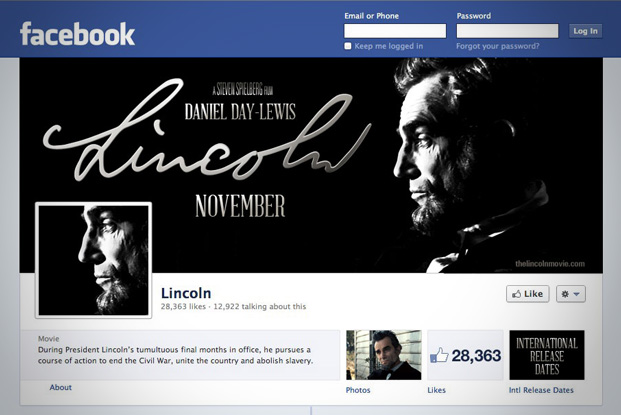 Lincoln Movie Facebook