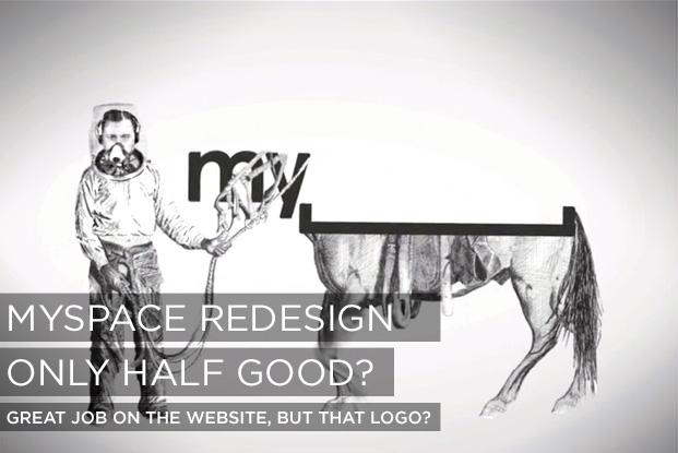 New MySpace Logo
