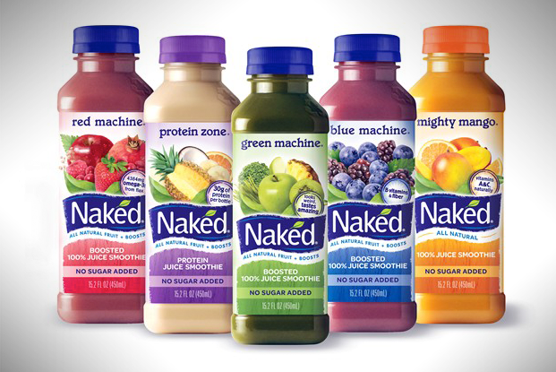 New Naked Juice Redesign Bottles
