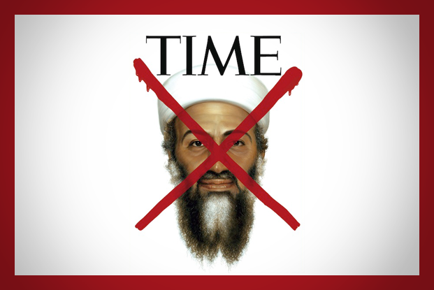 Osama Bin Laden 'X' Factor TIME Magazine Cover