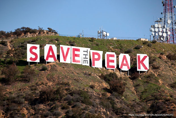 Hollywood Sign Saved