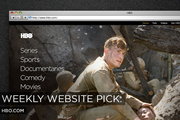 HBO New Web Site